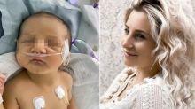 La Zorzetto ha partorito, ma il piccolo Leonardo è rimasto in ospedale: il racconto