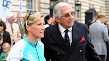 Countess of Wessex 'so happy' as her father gets coronavirus vaccine