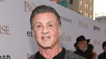 Surprise! Sylvester Stallone returns to the Rocky statue in Philadelphia.