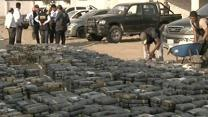 Raw: Over 3 Tons of Cocaine Seized in Peru