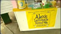 Lemonade stand serves up day of hope, fun for kids battling cancer