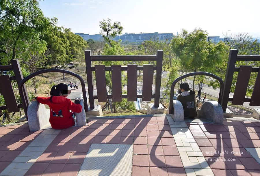 大雅中科公園|復古磨石子滑梯09