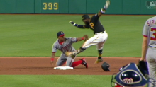 Josh Harrison gave us either the best or worst slide of the season