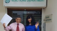 Second Chance CEO Salleh Marican collects presidential election forms