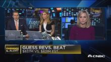Guess beats on revenue, misses earnings expectations