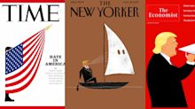 Striking magazine covers criticize Trump's Charlottesville response