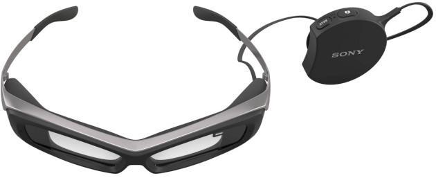 Sony's $840 augmented reality glasses are real, just not pretty