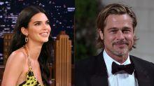 Kendall Jenner foge de Brad Pitt em evento em Los Angeles