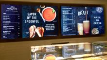 Starbucks Tests Digital Menus