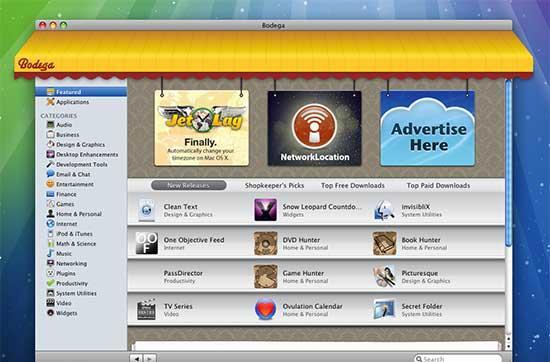 Bodega: App Store of Mac OS X
