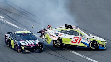Logano 'surprised' by McDowell at Daytona