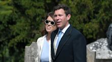 Princess Eugenie and Fiancé Jack Brooksbank Hit Up a Friend's Wedding Looking Fine AF