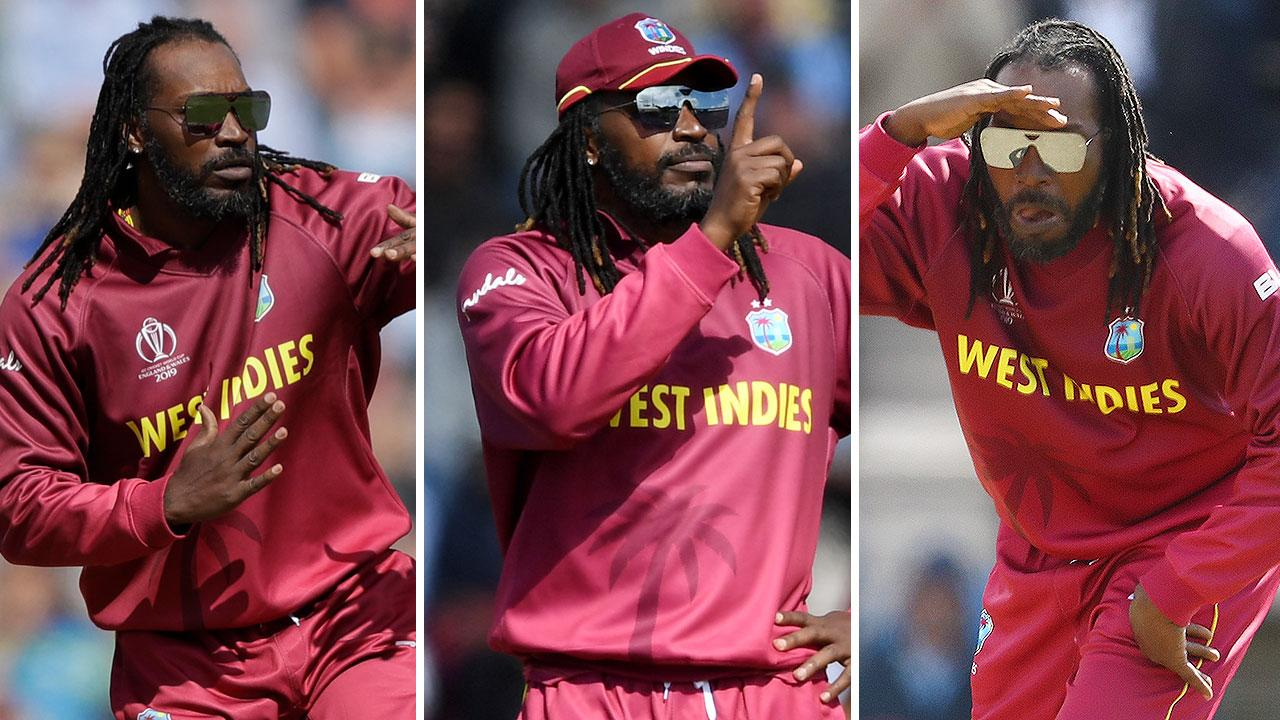'Absolute lad': Chris Gayle's entertaining five-over cameo
