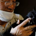Wider Image: The man who saves forgotten cats in Fukushima's nuclear zone
