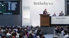 Sotheby's Modern Art Evening Sale and Modern & Contemporary Southeast Asian Art Evening Sale in Hong Kong Achieve Exceptional Results: $114.7 Million Total