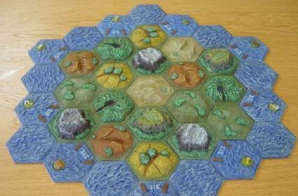 Settlers of Catan ... hot! Now where is it?