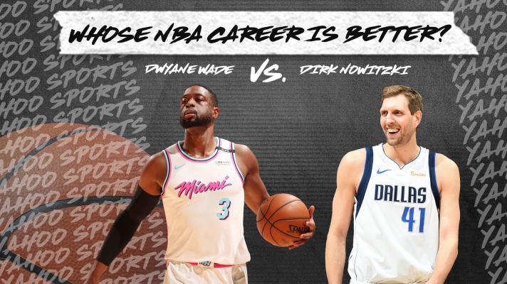 Whose NBA career is better? Dwyane Wade vs. Dirk Nowitzki