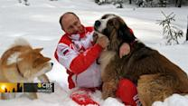 Headlines at 8:30: Putin frolics in snow with dogs