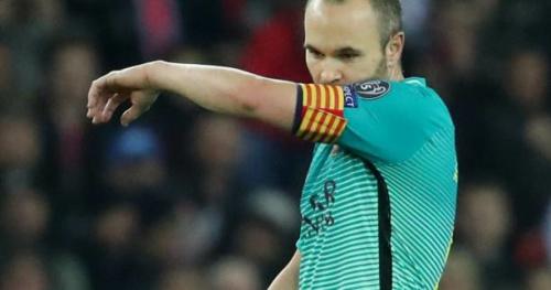 Foot - ESP - Barça - FC Barcelone : Andres Iniesta forfait contre l'Espanyol