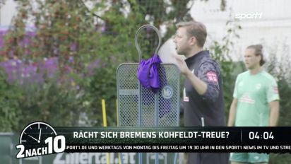2 nach 10: Steigt Werder Bremen mit Florian Kohfeldt aus der Bundesliga ab?