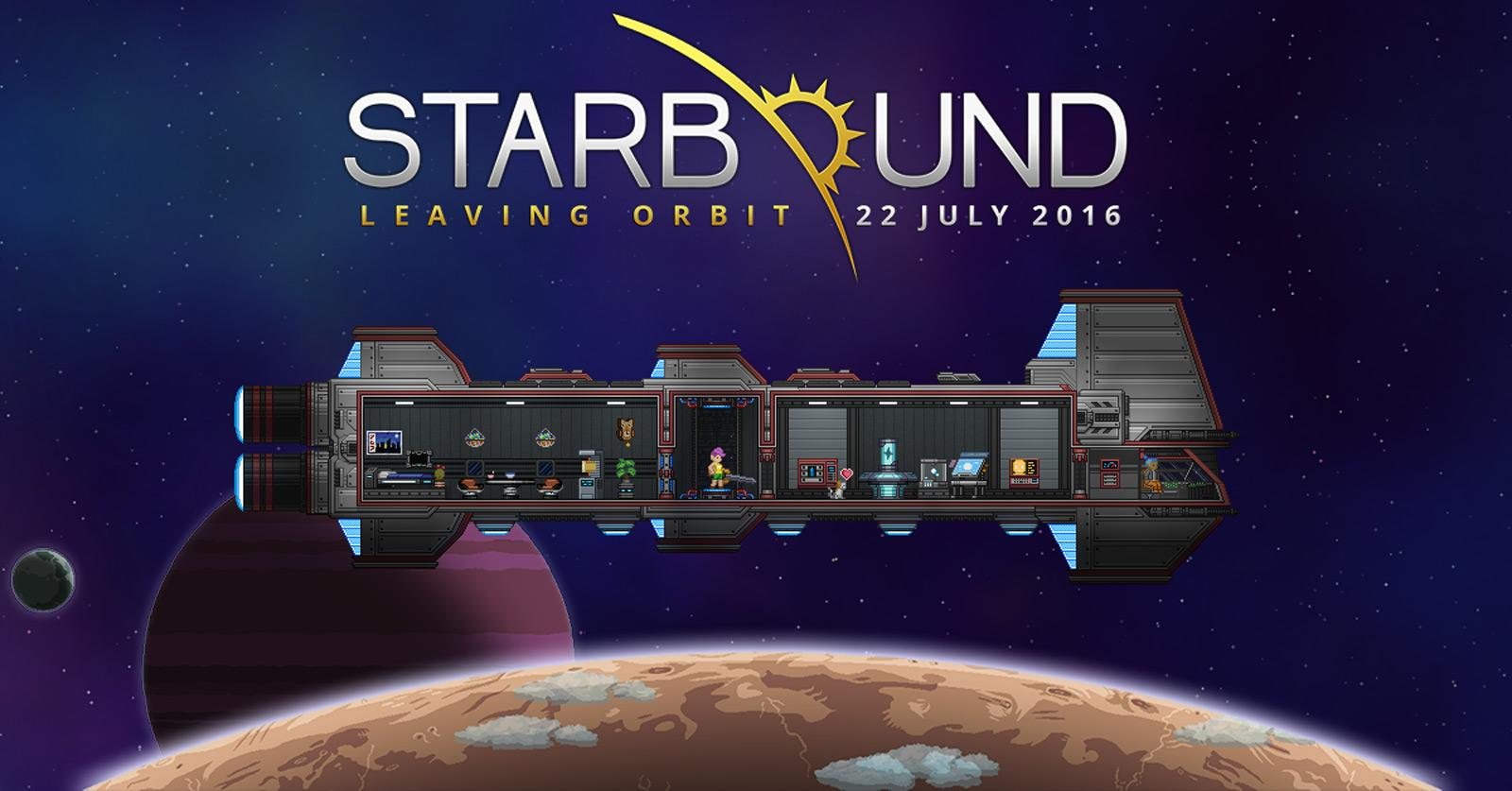 Starbound Will Be Ready For Everyone On July 22nd Engadget