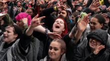Mosh pits and mask-free crowds: Download Festival pilot in pictures