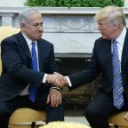 In a gift to Netanyahu, Trump tweets U.S. support for Israel annexing Golan
