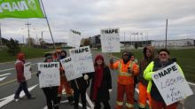 Town of Paradise locks out unionized workers, garbage trucks blocked at picket line