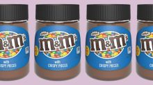 M&Ms Crispy chocolate spread just landed in Asda and it looks dreamy