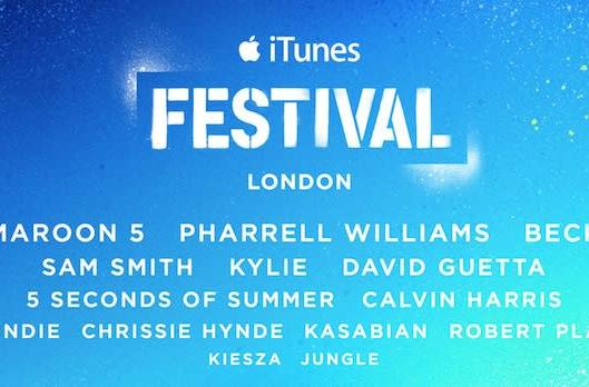 Apple lines up Pharrell, Maroon 5, Blondie and more for 2014 iTunes Festival