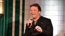 Jamie Oliver scolded by his mum after sharing snap of baby River Rocket lying on the 'hard floor'