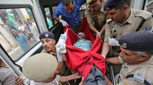 Bus plunges into Indian Kashmir valley, 16 Hindu pilgrims killed