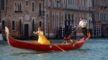 Venice Carnival Kicks Off With Spectacular Gandola Parade