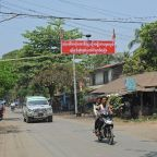 Three bombs hit capital of Myanmar's Rakhine state