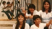 Ivete Sangalo posta foto antiga e se destaca ao lado de amigos