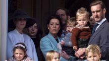 Los 'mini royals' de Mónaco acaparan todo el protagonismo en el Día Nacional