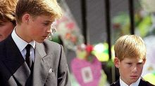 Harry and Wills' touching last tribute to Diana