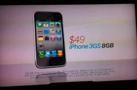 AT&T's old $49 iPhone 3GS gets a new ad to sell it (video)
