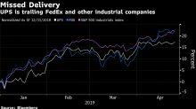 UPS Falls Most in Four Years as Investors Shun Comeback Plan