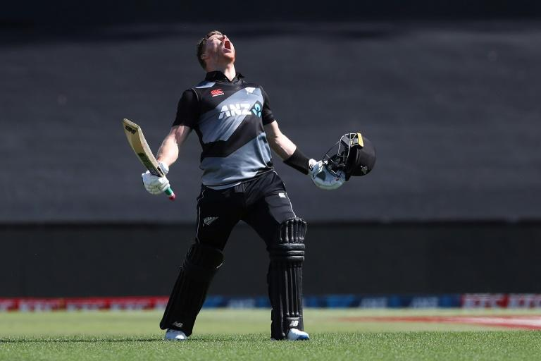 Phillips' record ton sees New Zealand take Windies T20 series