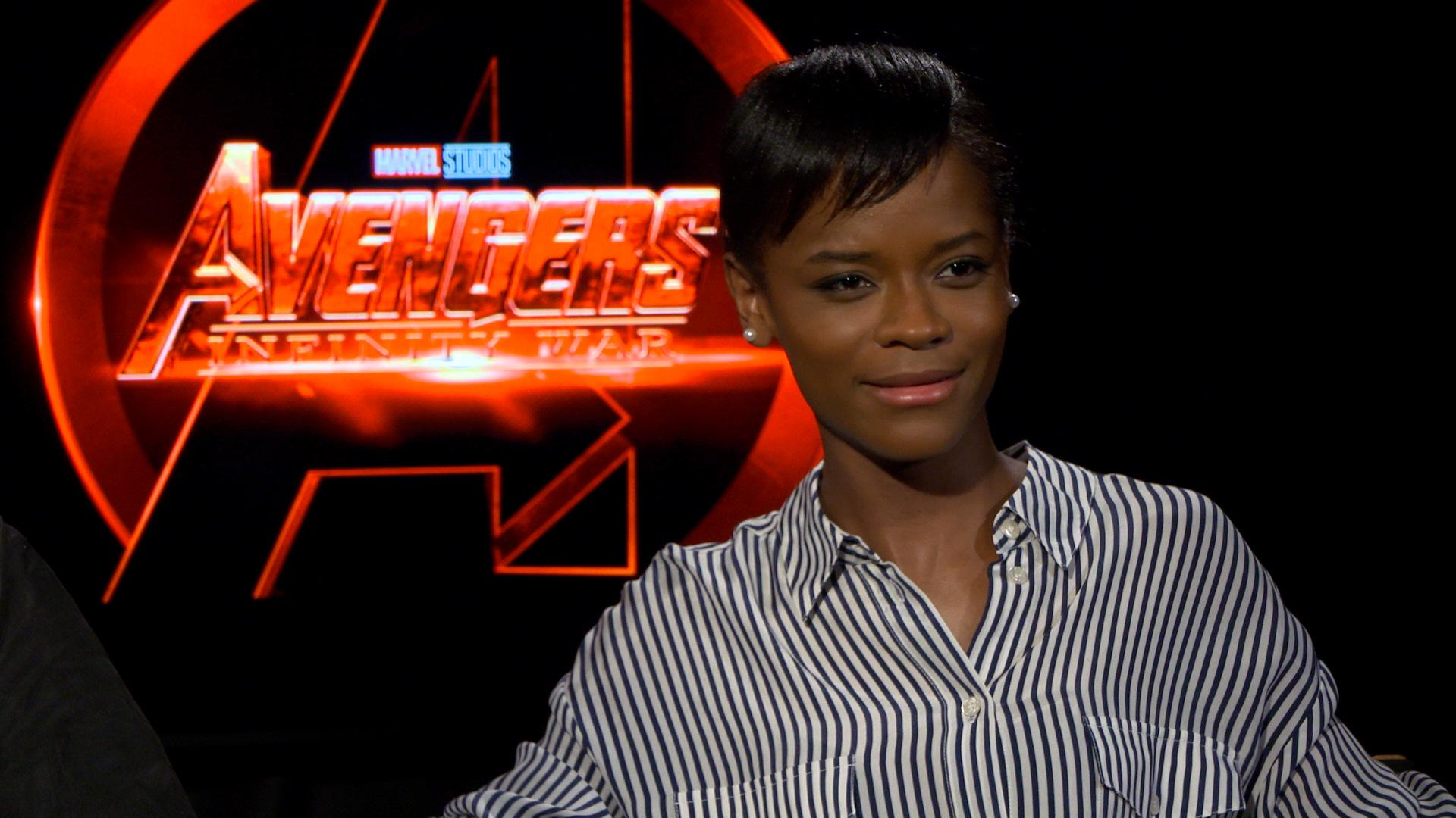 'Black Panther' star Letitia Wright proudly owns her Disney princess status