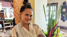 Chrissy Teigen defends taking a lengthy family vacation