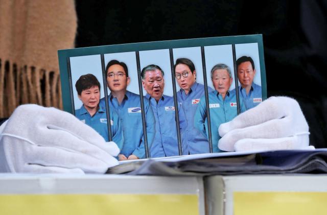 Samsung-linked scandal takes down South Korea's president