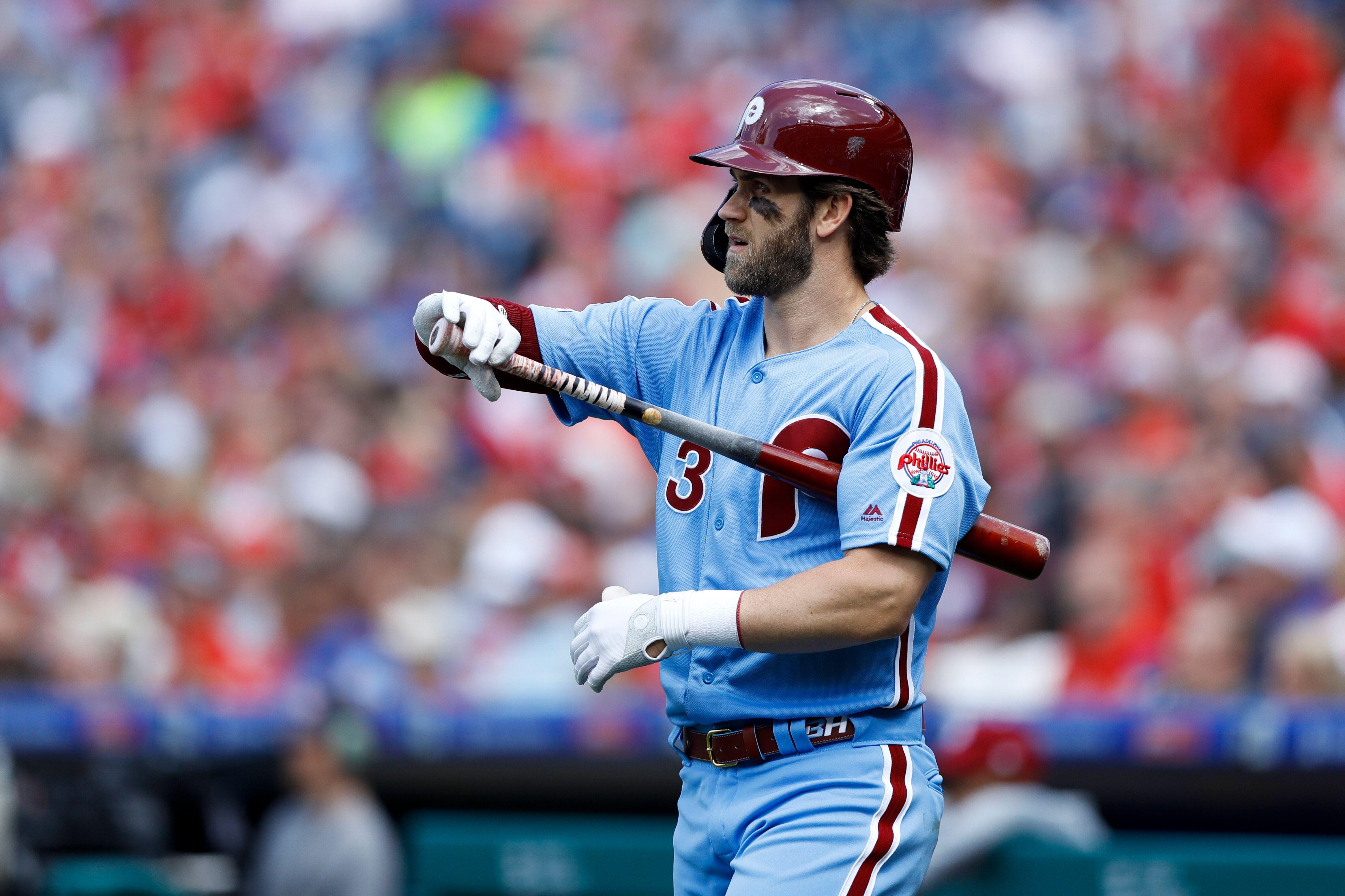 Phillies manager Gabe Kapler says team understood that Bryce Harper comes with history of slumps
