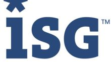 ISG Announces Finalists for Inaugural ISG Paragon Awards™ Program in the Americas