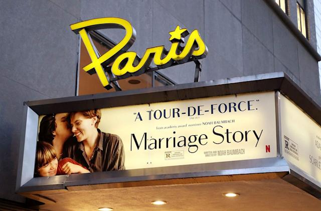 Netflix steps in to save New York's historic 'Paris Theatre'