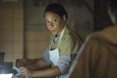 Selenis Leyva as Gloria in Netflix's Orange Is The New Black. (Credit: Netflix)