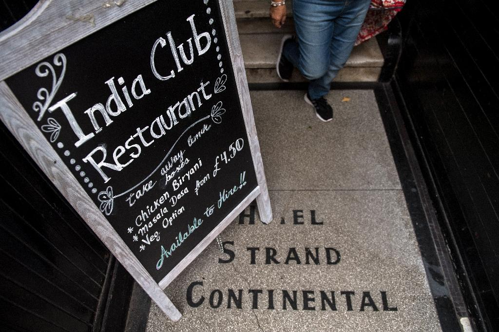 The story of London's historic India Club will be told in an exhibition after the restaurant won a battle against developers who wanted to turn the building into a boutique hotel (AFP Photo/CHRIS J RATCLIFFE)