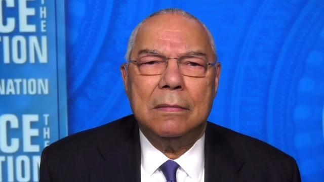 """Transcript: Colin Powell on """"Face the Nation"""""""