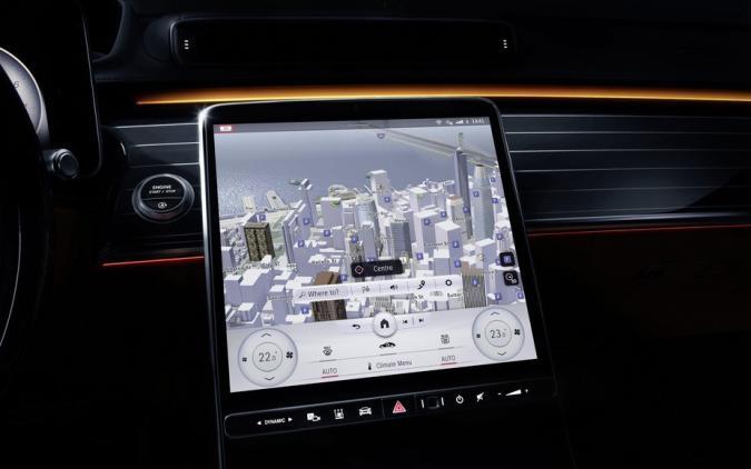 Mercedes' second-gen MBUX infotainment system